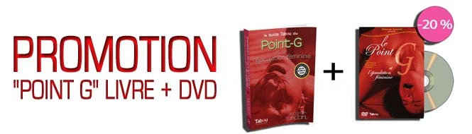 Promotion Point G (Livre + DVD)
