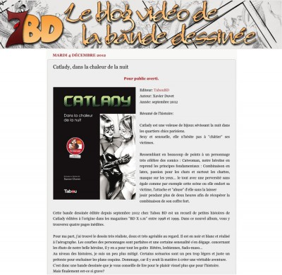Article 7bd - BD Catlady