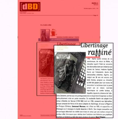 Article DBD - BD Les Aphrodites Vol1