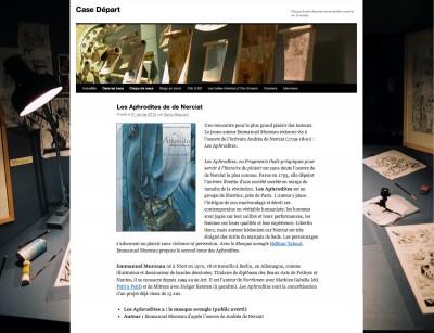 Article Case Départ - BD Les Aphrodites Vol2