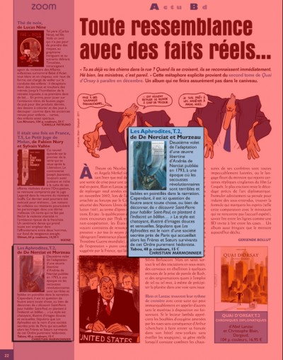 Article Zoo - BD Les Aphrodites Vol2