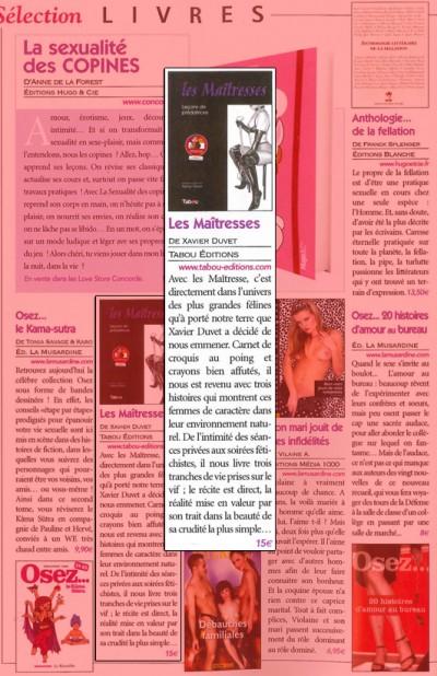 Article Busty - BD Les maitresses
