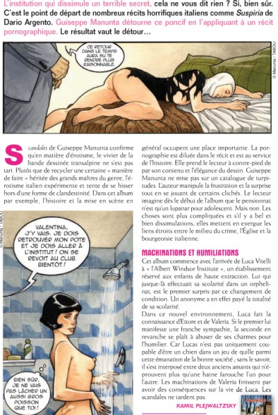 Article Zoo - BD Scandales