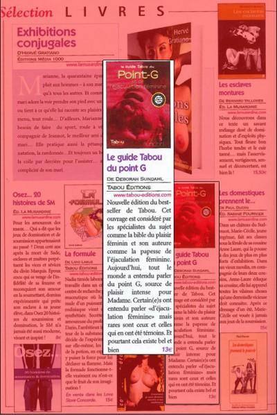 Article Busty - Guide tabou du point G et de l'éjaculation féminine