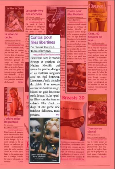 Article Busty - Roman Contes pour petites filles libertines