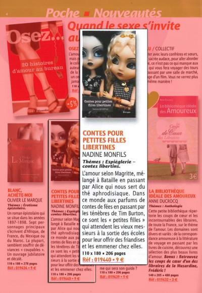 Article La Musardine - Roman Contes pour petites filles libertines