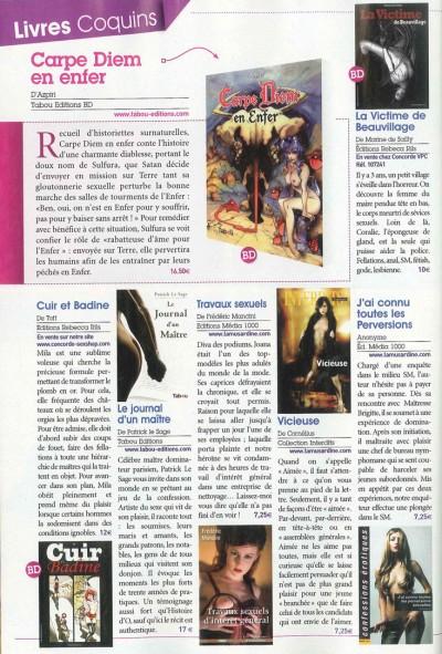 Article Busty - Roman Le journal d'un maitre
