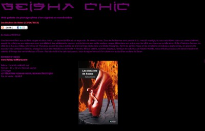 Article Geish Chic - Roman Les souliers de Satan