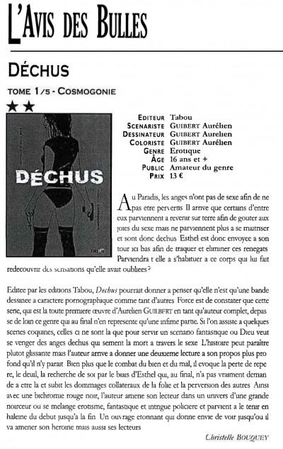 Article Lavis des bulles - Dechus 1
