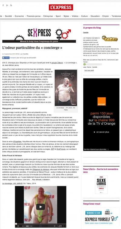 Le concierge : entre Proust et Hérisson…