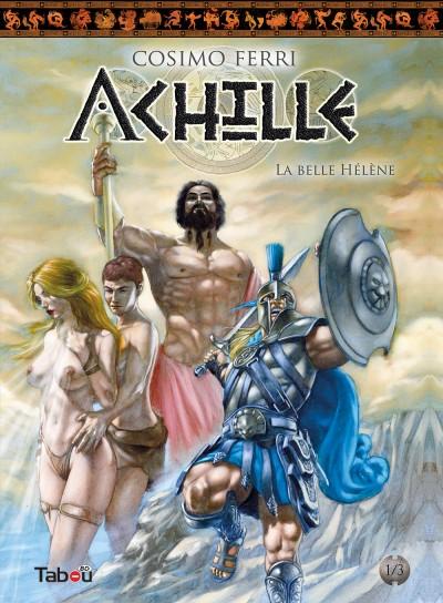 Achille 1 : La belle hélène : Des illustrations, à la fois sensuelles et classiques