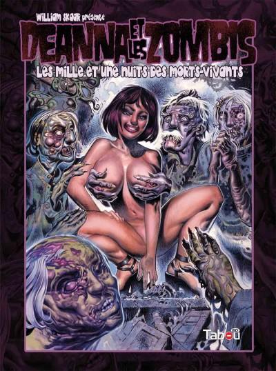 Deanna et les zombis : un sacré boulot de dessinateur !