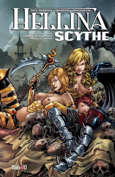 Hellina Scythe : un mélange d'horreur, de mythologie, de dark fantasy et d'érotisme. Vous voilà prévenus.
