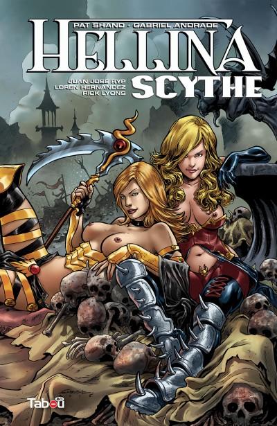 Hellyna scythe : un comics avec des dessins époustouflants