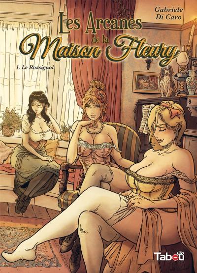 Les Arcanes de la maison Fleury (1) : Un début fort et prenant, plein de suspense, de plaisirs et de sang.